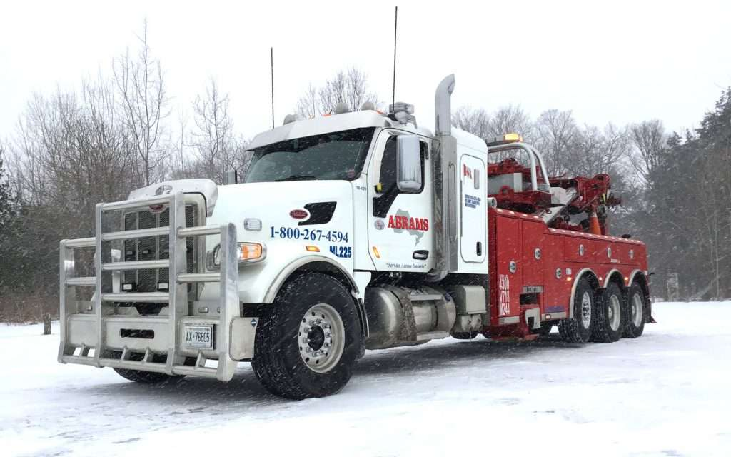 Heavy Towing Truck