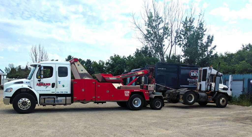 Shunt Truck Towing