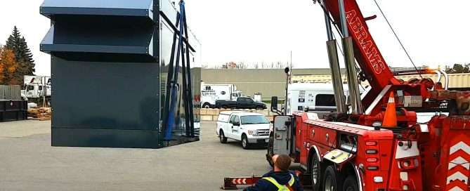 Generator Lifting Towing Delivery