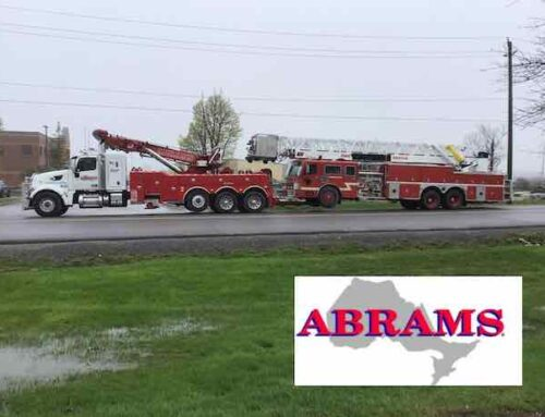 Heavy Towing of 1 Retired Fire Truck