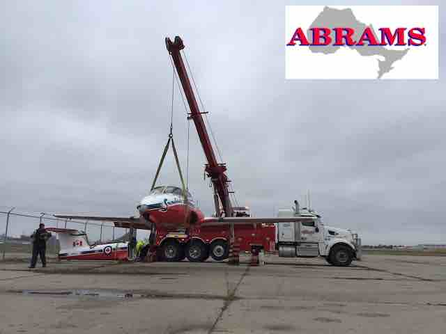Rotator of Heavy Duty Towing Toronto lifting Snowbird