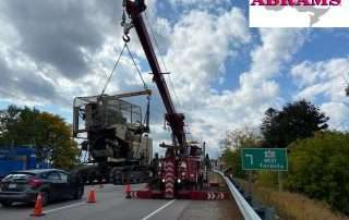 Heavy Tow Services off 401