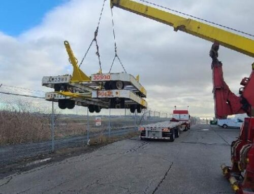 Heavy Equipment Transport Lifts 16 Baggage Carriers