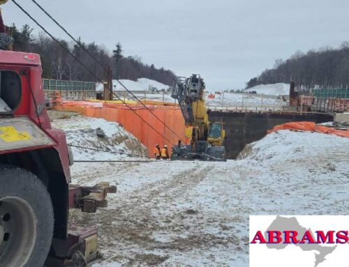 Towing Service Moves 70,000 lb Crane
